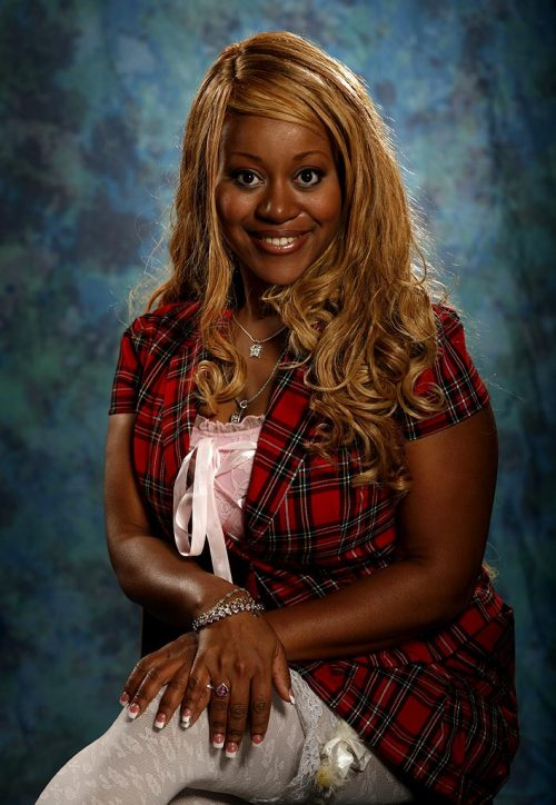 REMEMBER HOTTIE FROM FLAVOR OF LOVE