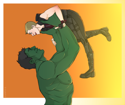 wrjenkins:  put me down or I SMASH you, Hulk! by *RinGreen