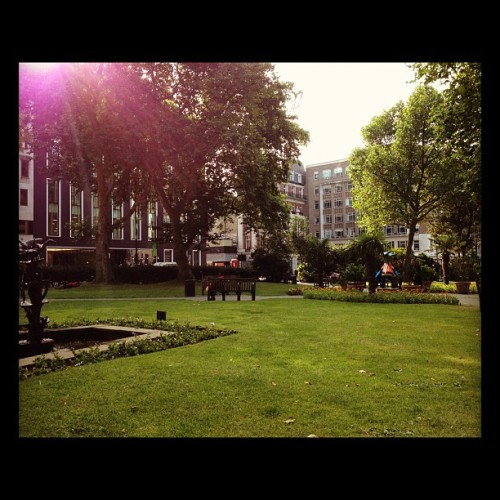 hanover square (Taken with Instagram)