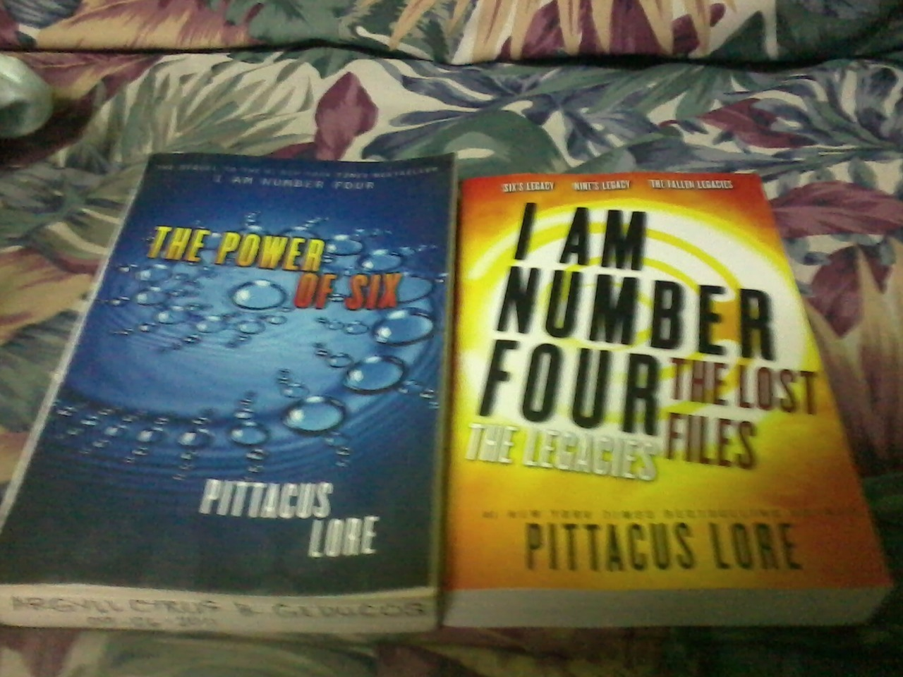 Today My Mom Bought Me A Copy Of Pittacus Lore's €�i Am Number Four: