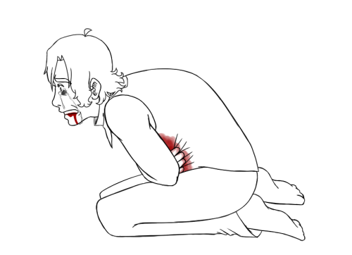 nekochicanaartblog:  i was supposed to be drawing fluff but then i felt like shit so here you go a dying sammy and he doesn't have shoes because i just don't fucking care  SAMMY NO QAQ