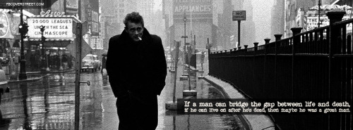 James Dean Facebook Covers
