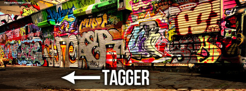 Tagger Graffiti Facebook Cover