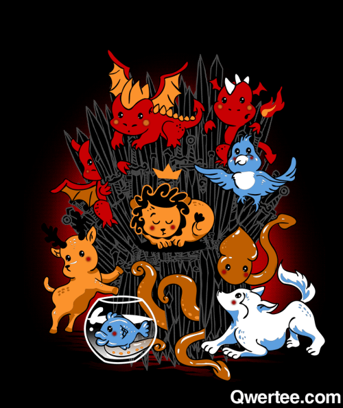 "qwertee:  Just 12 hours remain to get our Last Chance Tee ""Little Thronies"" on www.Qwertee.com/last-chance Get this great design now for £10/€12/$14 before it's GONE FOREVER! Be sure to ""Like"" this for 1 chance at a FREE TEE this weekend, ""Reblog"" it for 2 chances and ""Follow"" us for a 3rd chance (if you're not following us already:) Thanks as always!"""