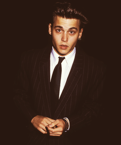 theblacktie:  Mr. Johnny Depp
