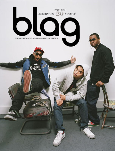 2012 | BLAG 20th Anniversary | Chad Hugo of N*E*R*D Big thanks to Chad Hugo for writing a little something for the 20th Anniversary Edition To celebrate here's a photo inside from Vol.2 Nø 10, enjoy.  Photography: Sarah J. Edwards - on location at Elms Lesters Painting Rooms