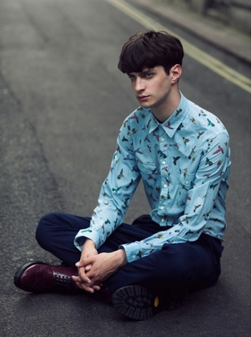 justdropithere:  Matthew Bell by Cecilie Harris - fashion156.com