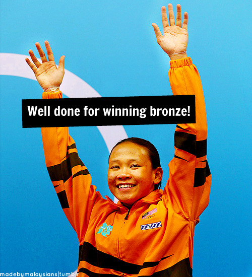 madebymalaysians:  Bronze Medal for Olympics Women's 10m Platform Diving