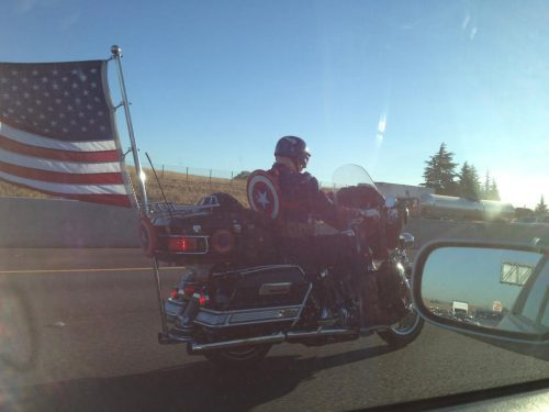 Captain America real life