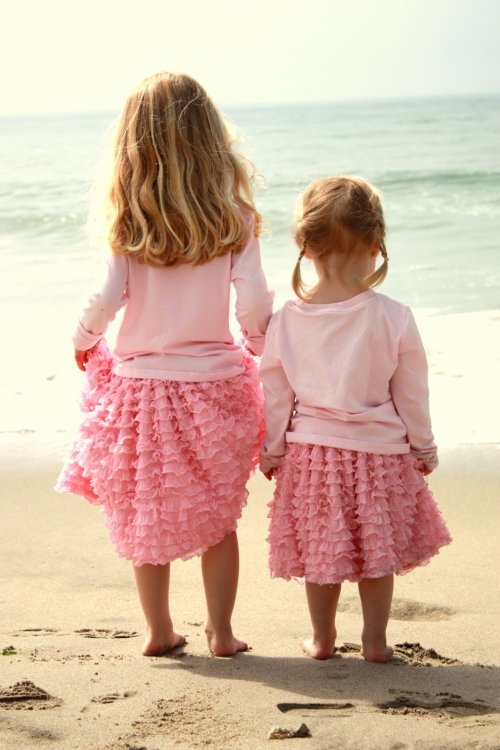 source: Made By Lex ~ so sweet ~ ruffle skirt tutorial