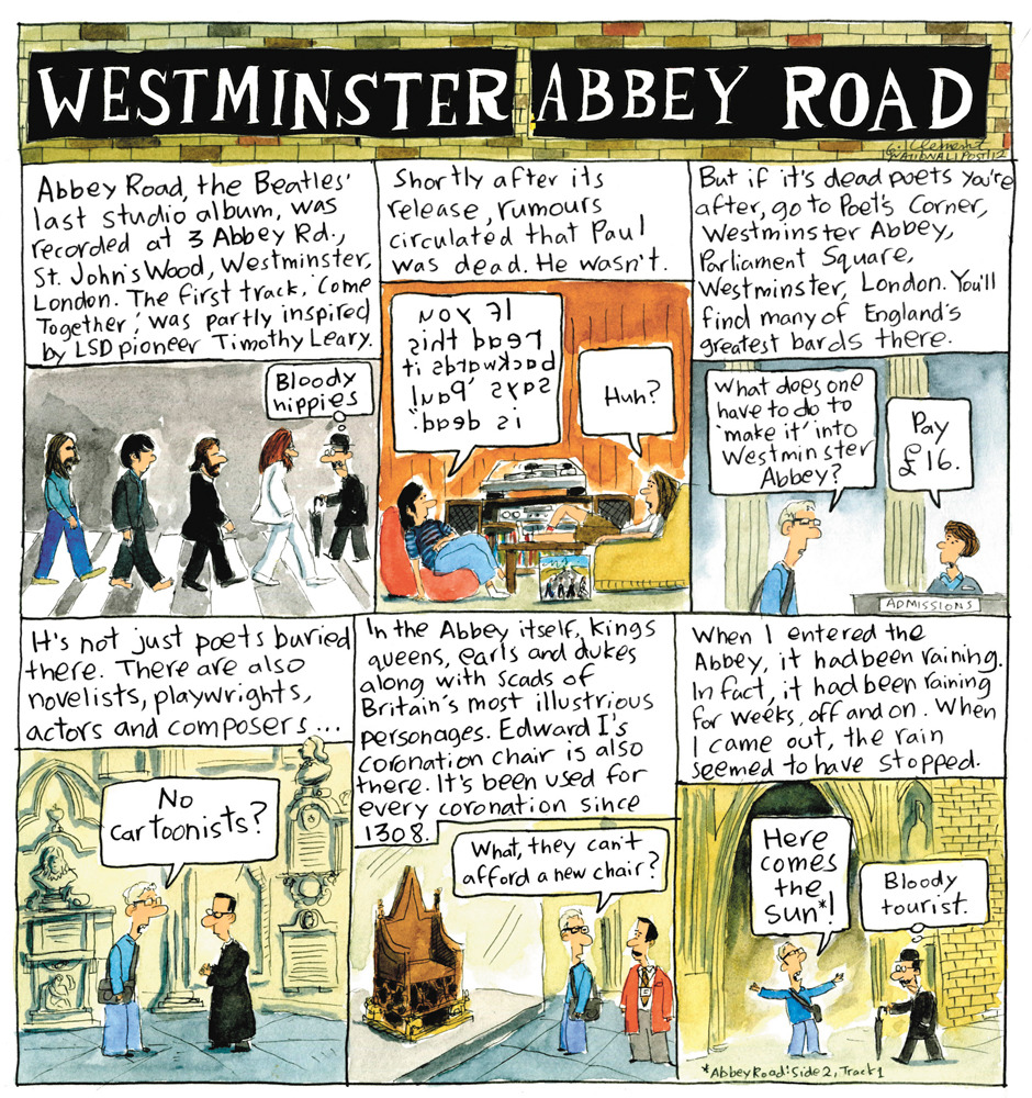 Gary Clement Does London: Westminster Abbey Road