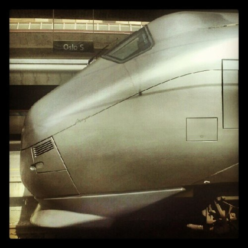 #OsloS #Tog #Train #Oslo #Norge #æøå  (Taken with Instagram)