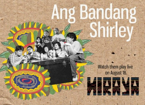Catch indie-pop alternative ensemble Ang Bandang Shirley live only on Hiraya Arts and Music Festival this August 18 in Bonifacio Global City! Themesong – Ang Bandang Shirley: http://www.youtube.com/watch?v=ZAhEIW3qD1M RSVP Here: http://www.facebook.com/events/479817995362800 For more details and the complete artist line-up, check us out on Facebook: http://facebook.com/upjmahiraya