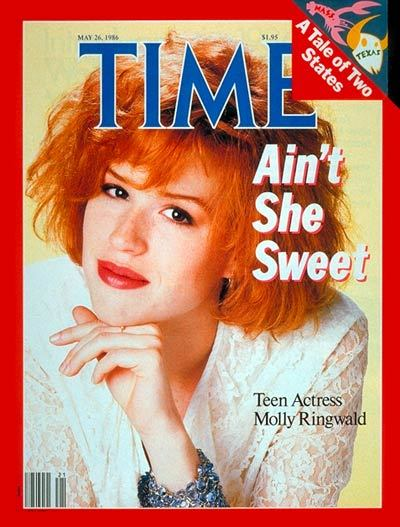 It's just Molly Ringwald reading Emma Straub.  Yeah, no big deal or anything like that.