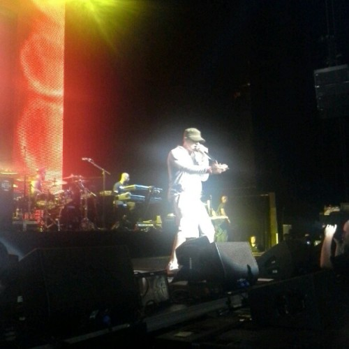 best night ever @Eminem (Taken with Instagram)