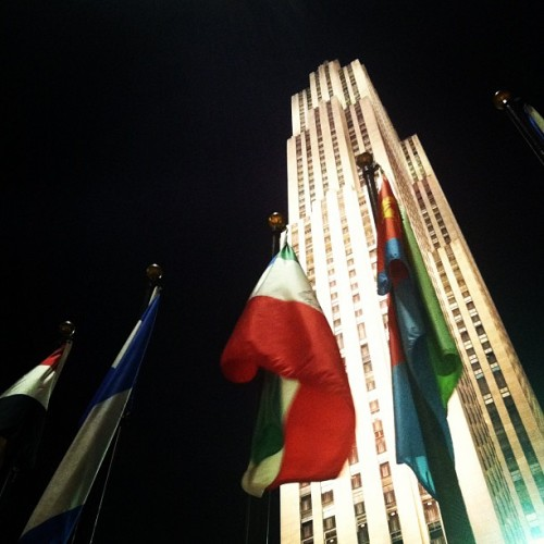 Liz Lemon works here.  (Taken with Instagram at 30 Rockefeller Plaza)