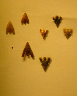 Arrowheads - the real deal at The British Museum