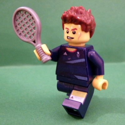 Andy Murray has been made into lego following his gold medal at the Olympics!