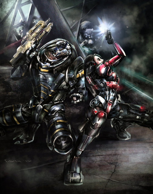 itsonlyfiction:  Team by INRIn