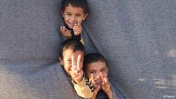 menschwerdung:  syrian refugee children (via deutschewelle)   How cute they are :) You can see hope shining from their eyes.