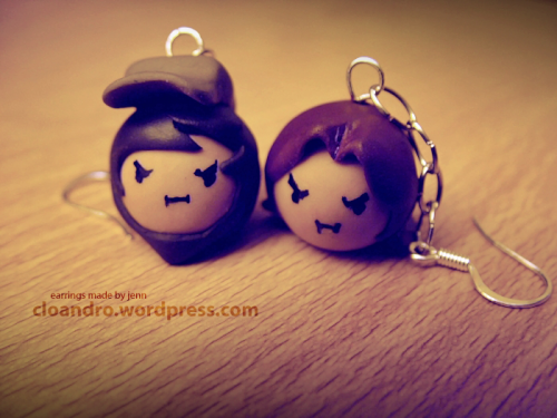 Game Grump Earrings! Sooo yeaa, I've been busy! Had made two things I'm proud of. Here's one that's already been posted up a while ago on the craft blog my friend and I have. It should be linked if you click the photo.