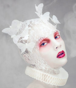 zerographical:  Mist and Powder EditorialStyling, MUA and post - Natalie Shau Light - Hideo Photo - Natalie Shau and Hideo Models - Solveiga and Gabriele Hair - KateKerpa