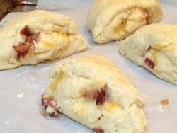 Bacon & Cheddar Scones