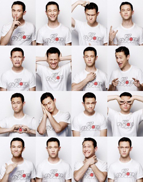 Making Teenage Faces / Joseph Gordon-Levitt on We Heart It. http://weheartit.com/entry/29203787