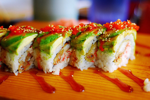Sushi! Potentially having some this weekend :D