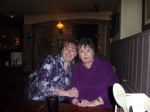 In other news……  It would have been my Mum's 61st birthday a couple of days ago (7th August) .  I found her absence a little easier this year than last year. Last year it was still very raw because it was the first birthday without her and I felt mightily aggrieved that she missed that 60th milestone. I just hid under the duvet wishing the day away.  So on Tuesday I spent some quiet time looking through old photos and even re-reading the condolence cards that people sent. So many people had such lovely things to say about her. I feel really proud when I read them :-)  I don't live near the cemetery where her ashes are interred so instead I made a post on facebook to her. It's daft I know, but it's no dafter than talking to someone's gravestone.  People leave huge holes when they disappear.