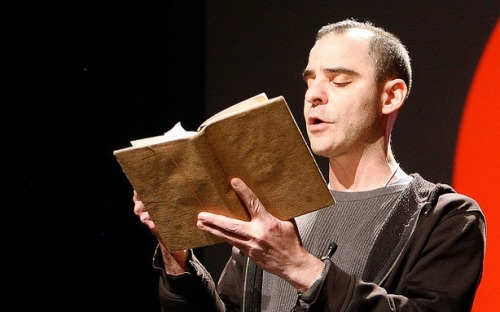 theatlantic:  David Rakoff, Essayist and 'This American Life' Contributor Has Died at Age 47  Before devoting himself to writing fulltime, Rakoff worked in publishing. At this time, he befriended Ira Glass, then a producer at NPR's Morning Edition. When Glass went on to create This American Life, he invited Rakoff to read his deadpan essays on the show. Along with David Sedaris, Rakoff would help establish the show's distinctive voice. Rakoff also began pursuing a career as a prolific freelance journalist for the publications like New York,The New York Times, and Salon. He wrote three books of essays,Fraud, Don't Get Too Comfortable, and Half Empty, and last year, he was awarded the Thurber Prize for Humor.   Read more. [Image: Pop!Tech via Flickr]
