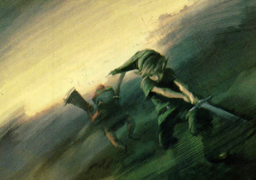 nintendocafe:  Official Nintendo, The Legend of Zelda concept art