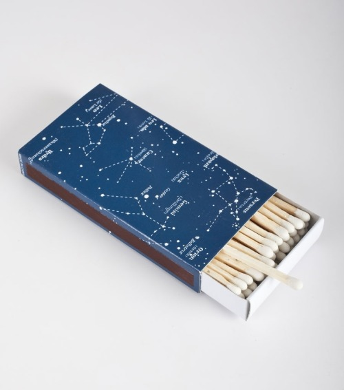 artpixie:  Constellation Matches by Cat bird NYC