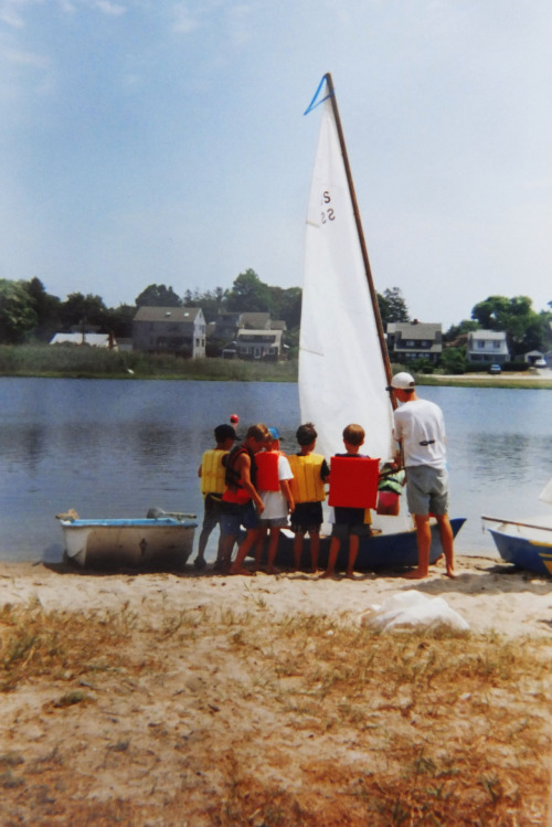Learning to sail, 1991.