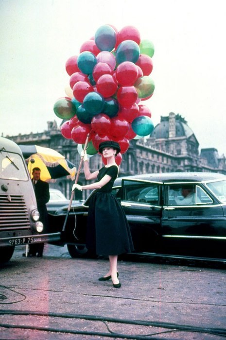 vanityfair:  The 25 Most Fashionable Films | Audrey Hepburn in Funny Face