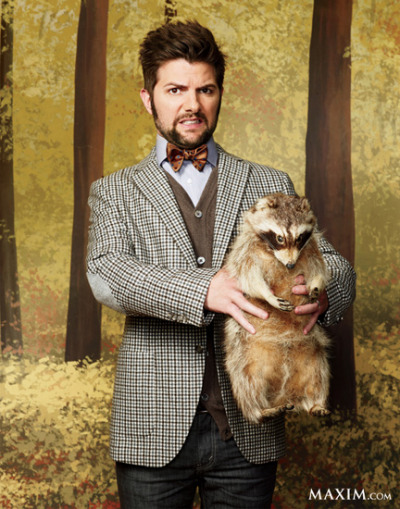 (via MTV Style | Adam Scott Models Fall Fashion Trends, Cracks Us Up In 'Maxim')