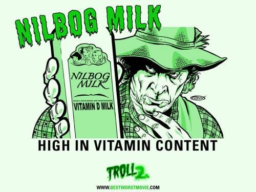 Nilbog Milk…has lots of vitamin content… mMMmMmmmmm… :-/