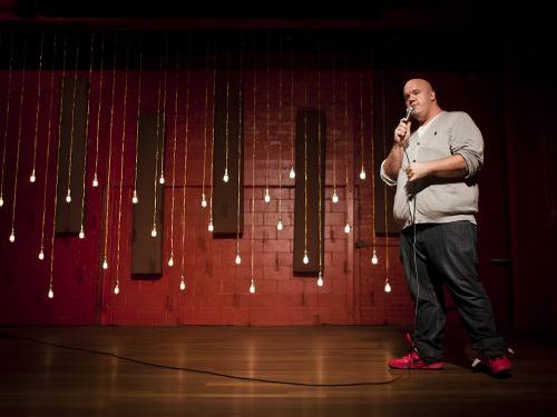 superseriousshow:  Guy Branum // The Super Serious Show, July 2012 *Photo by Liezl Estipona