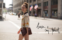 laura in garance dore for kate spade new york