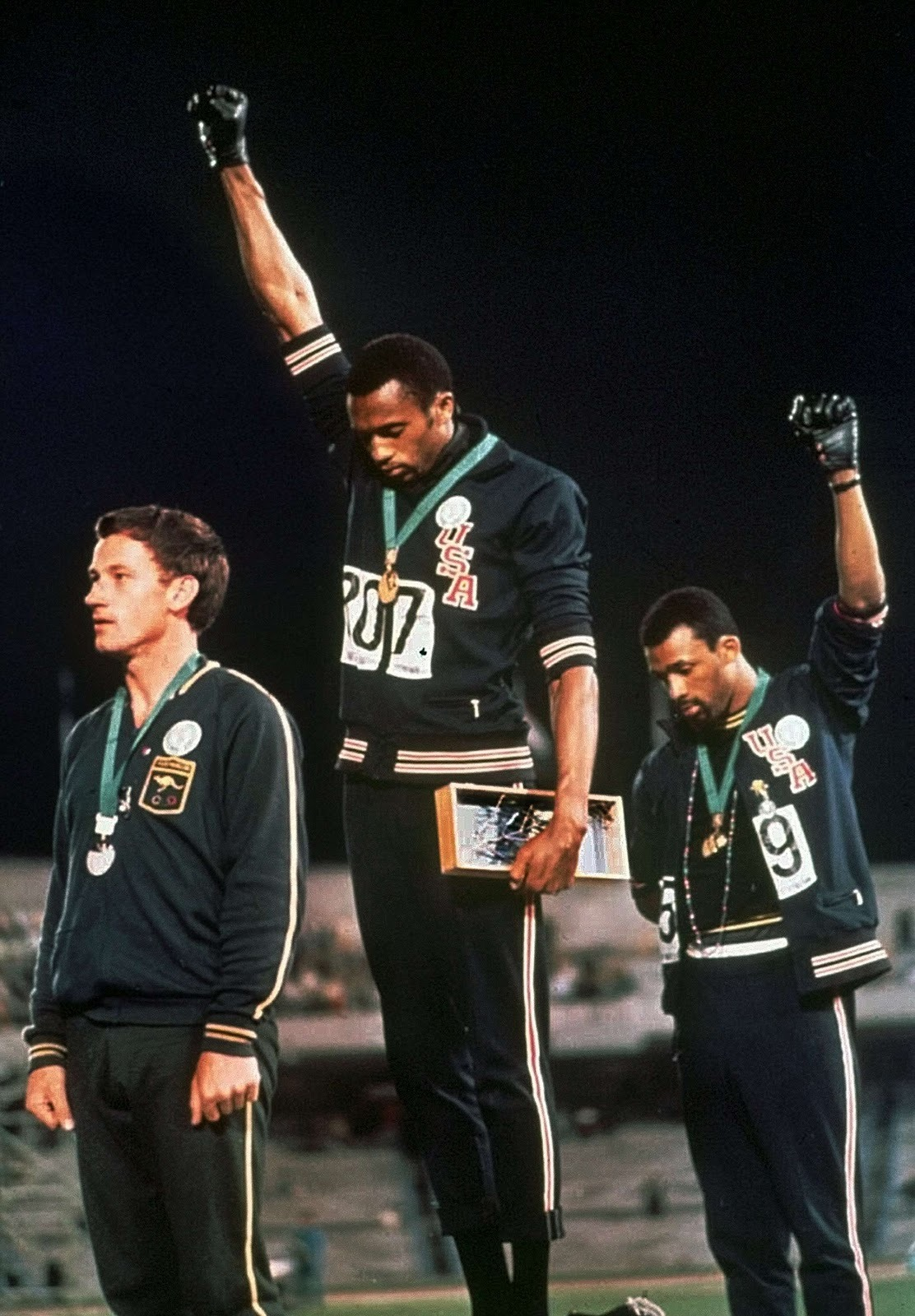 "We interviewed Tommie Smith about the ""Black Power"" salute at the 1968 Olympics. He says it was a fist raised for the world, not just Black Americans. And he spoke a lot in the third person because he's a badass."