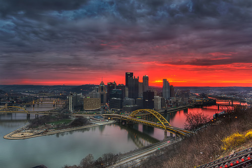 oblivi0n-:  Good Morning Pittsburgh!!…(Explored) (by Z!@)