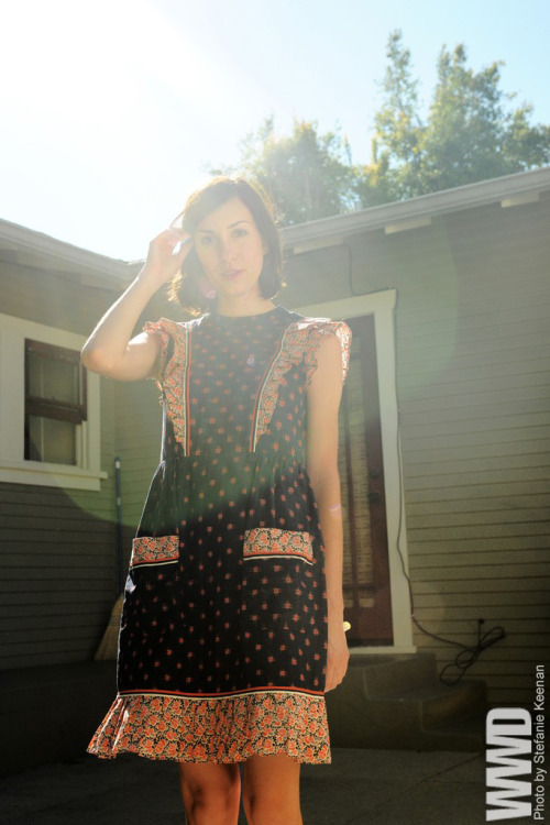 Gia Coppola in the Spotlight Gia Coppola knows a thing or two about film, having grown up watching her grandfather Francis Ford, her aunt Sofia and her uncle Roman on the job.Since graduating from Bard College with a degree in photography in 2009, she has carved a niche in her hometown of Los Angeles directing short fashion films for Rodarte, Zac Posen and Diane von Furstenberg, and labels Opening Ceremony and Wren.Her work won her a spot as one of the featured speakers at the inaugural Curators Conference, a day-long event taking place on Sept. 5 at the Walter Reade Theater at Lincoln Center in New York on the eve of New York Fashion Week.  For More