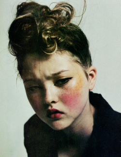 Devon Aoki by Mario Sorrenti, The Face, October 1996