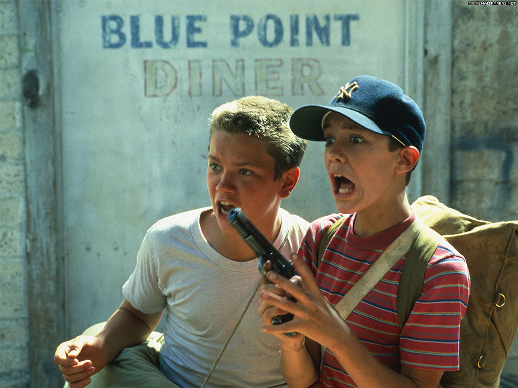 filmspaz:  River Phoenix and Will Wheaton in Stand by Me (1986)