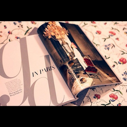 Join my #blog #giveaway on sergeantkero.com #harper #bazaar #korea #august #gdragon #paris  (Taken with Instagram)