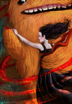(via My midnight tango with monster by ~meluseena)