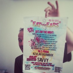 "New night  ""eat your ears"" coming soon! #huddersfield #clubnight #pa #dj #rave #party #bashment (Taken with Instagram)"