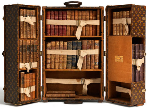 Louis Vuitton's bookcase trunk from 1923
