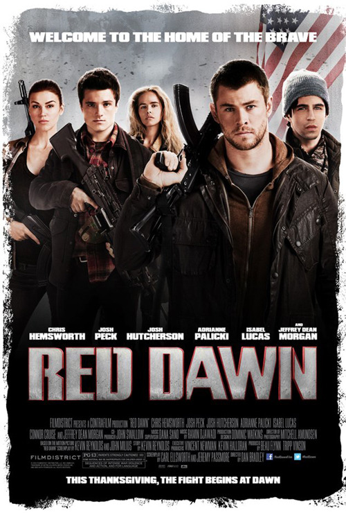 First poster for Red Dawn remake MGM's Red Dawn remake is finally heading towards a cinematic release, and to celebrate this progress, the film has released a first poster, showing off its young cast of all-American heroes…