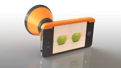 3DCone lets iPhones shoot 3D stills or video Read More